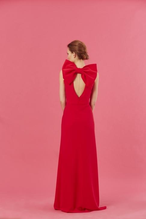 vestido-galia-rojo-coosy-lazo