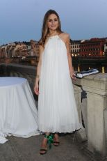 "Olivia Palermo during "" Aquazzurra "" event in Florence 19 june 2013 Florence (Italy)"