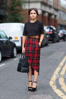 street style tartan trend (18)