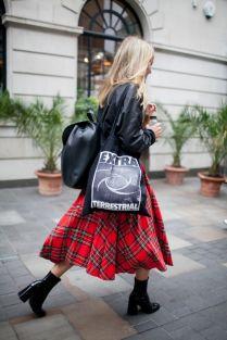 street style tartan trend (2)