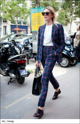 street style tartan trend (21)
