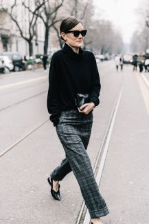street style tartan trend (24)